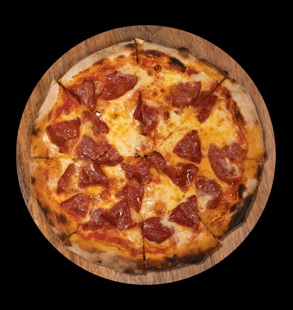 Kaya Pepperoni pizza
