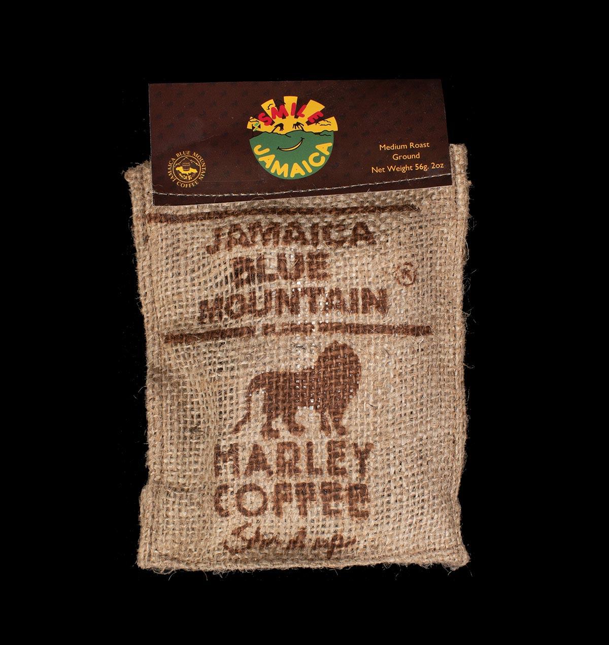 Smile Jamaica Blue Mountain Marley Coffee Bag