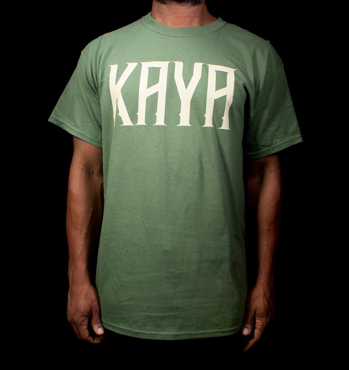 Kaya Logo Green T-shirt