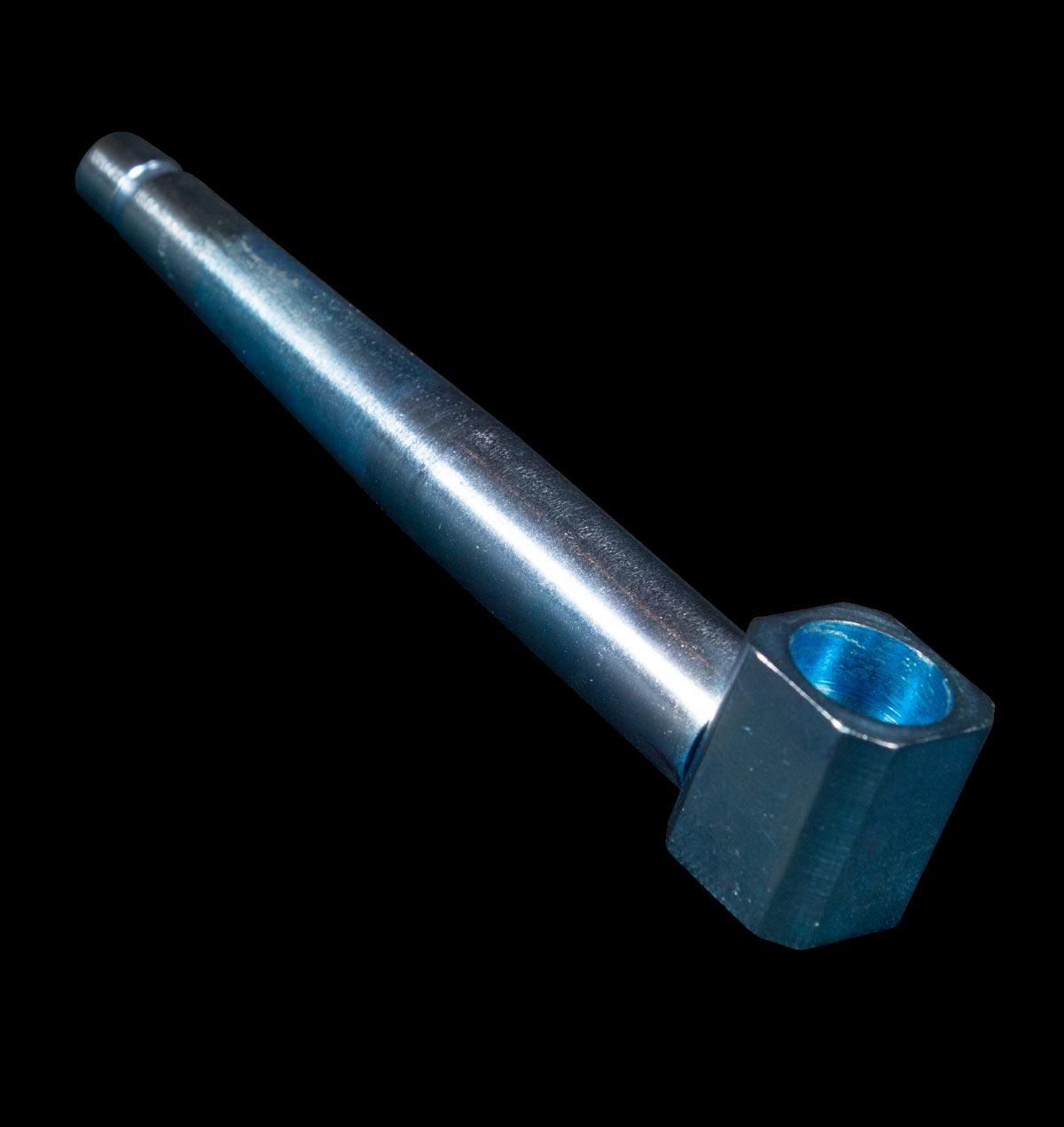 Blue Metal Pipe