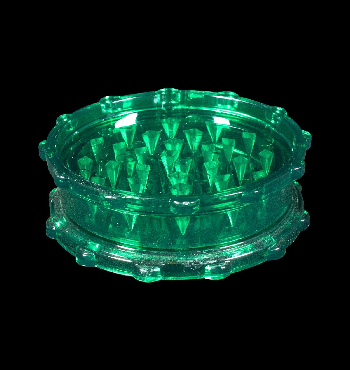 Green Plastic Grinder